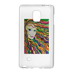 Inspirational Girl Samsung Galaxy Note Edge Hardshell Case
