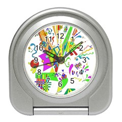 Splatter Life Desk Alarm Clock by sjart