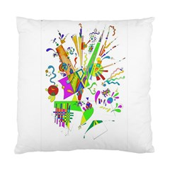 Splatter Life Cushion Case (two Sided)  by sjart
