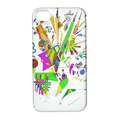 Splatter Life Apple Iphone 4/4s Hardshell Case With Stand by sjart