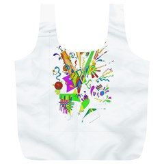 Splatter Life Reusable Bag (xl) by sjart