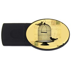 Victorian Birdcage 2gb Usb Flash Drive (oval)