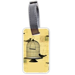 Victorian Birdcage Luggage Tag (one Side)