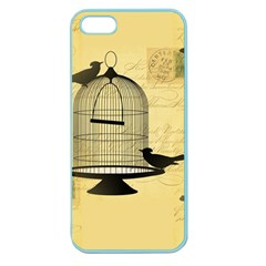 Victorian Birdcage Apple Seamless Iphone 5 Case (color)