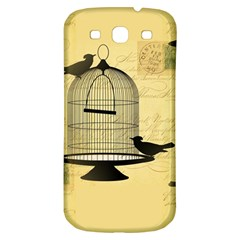 Victorian Birdcage Samsung Galaxy S3 S Iii Classic Hardshell Back Case by boho
