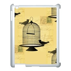 Victorian Birdcage Apple Ipad 3/4 Case (white) by boho
