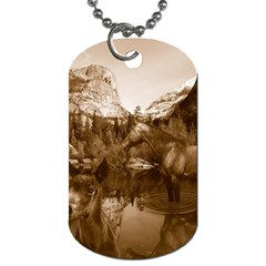 Native American Dog Tag (one Sided)