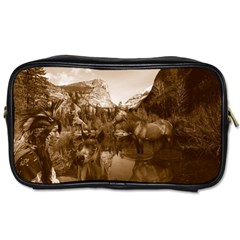 Native American Travel Toiletry Bag (two Sides)