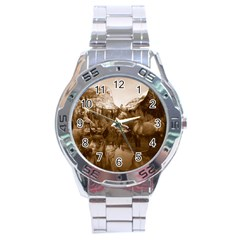 Native American Stainless Steel Watch by boho