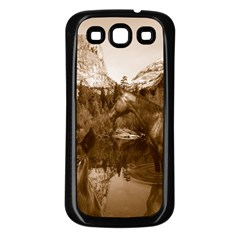 Native American Samsung Galaxy S3 Back Case (black) by boho