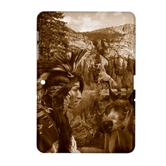 Native American Samsung Galaxy Tab 2 (10 1 ) P5100 Hardshell Case  by boho