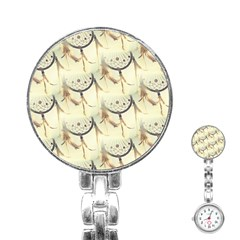 Dream Catcher Stainless Steel Nurses Watch by boho