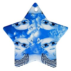 Skydivers Star Ornament by icarusismartdesigns