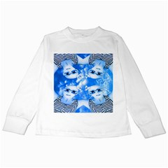 Skydivers Kids Long Sleeve T-shirt by icarusismartdesigns