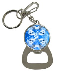 Skydivers Bottle Opener Key Chain