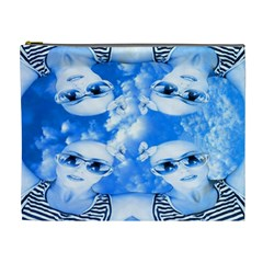 Skydivers Cosmetic Bag (xl) by icarusismartdesigns