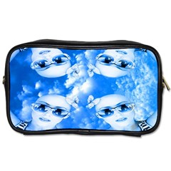 Skydivers Travel Toiletry Bag (one Side)