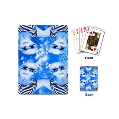Skydivers Playing Cards (mini) by icarusismartdesigns
