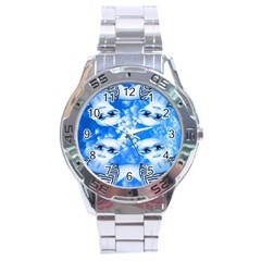 Skydivers Stainless Steel Watch