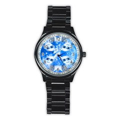 Skydivers Sport Metal Watch (black)