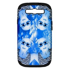Skydivers Samsung Galaxy S Iii Hardshell Case (pc+silicone) by icarusismartdesigns