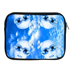 Skydivers Apple Ipad Zippered Sleeve by icarusismartdesigns