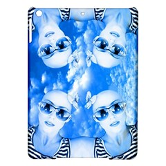 Skydivers Apple Ipad Air Hardshell Case by icarusismartdesigns