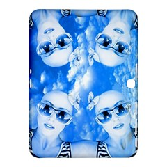 Skydivers Samsung Galaxy Tab 4 (10 1 ) Hardshell Case  by icarusismartdesigns