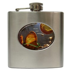 Follow Your Passion Hip Flask