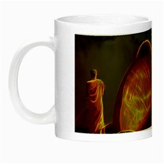Follow Your Passion Glow In The Dark Mug by lucia