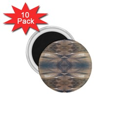 Wildlife Wild Animal Skin Art Brown Black 1 75  Button Magnet (10 Pack) by yoursparklingshop