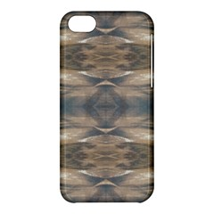 Wildlife Wild Animal Skin Art Brown Black Apple Iphone 5c Hardshell Case by yoursparklingshop