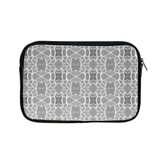 Grey White Tiles Geometry Stone Mosaic Pattern Apple Ipad Mini Zippered Sleeve by yoursparklingshop