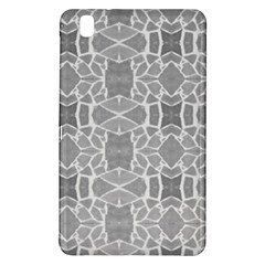 Grey White Tiles Geometry Stone Mosaic Pattern Samsung Galaxy Tab Pro 8 4 Hardshell Case by yoursparklingshop