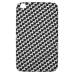 Hot Wife   Queen Of Spades Motif Samsung Galaxy Tab 3 (8 ) T3100 Hardshell Case  by HotWifeSecrets
