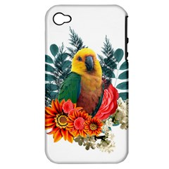 Parrot Apple Iphone 4/4s Hardshell Case (pc+silicone)