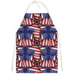 4th Of July Modern Pattern Print Apron by dflcprintsclothing
