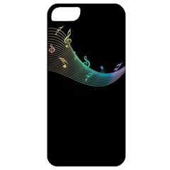 Musical Wave Apple Iphone 5 Classic Hardshell Case