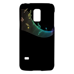 Musical Wave Samsung Galaxy S5 Mini Hardshell Case  by urockshop