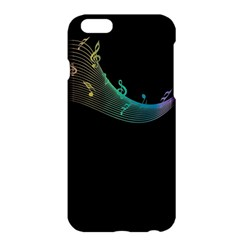 Musical Wave Apple Iphone 6 Plus Hardshell Case by urockshop