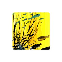 Yellow Dream Magnet (square)
