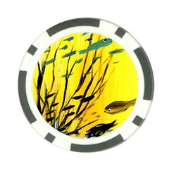 Yellow Dream Poker Chip (10 Pack) by pwpmall