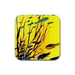 Yellow Dream Drink Coasters 4 Pack (square) by pwpmall
