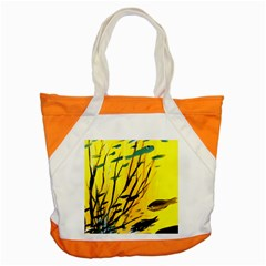 Yellow Dream Accent Tote Bag by pwpmall