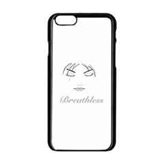 Breathless Apple Iphone 6 Black Enamel Case