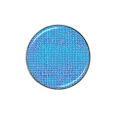 Textured Blue & Purple Abstract Golf Ball Marker (for Hat Clip) by StuffOrSomething