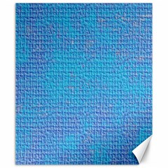 Textured Blue & Purple Abstract Canvas 20  X 24  (unframed) by StuffOrSomething