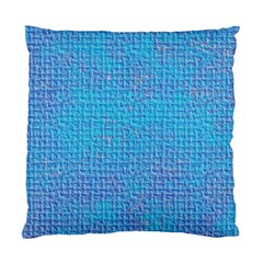 Textured Blue & Purple Abstract Cushion Case (single Sided)  by StuffOrSomething