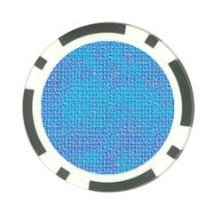Textured Blue & Purple Abstract Poker Chip (10 Pack) by StuffOrSomething