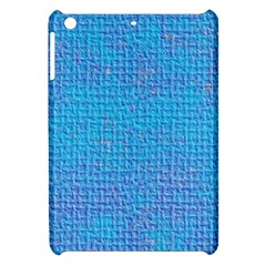 Textured Blue & Purple Abstract Apple Ipad Mini Hardshell Case by StuffOrSomething